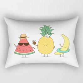 tropical fruits Rectangular Pillow