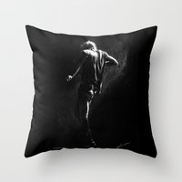 cyrilliart Throw Pillows featuring TMH Harry by Cyrilliart