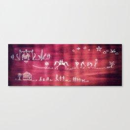 Warli Canvas Print