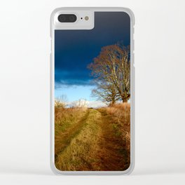 Road to the Storm Clear iPhone Case