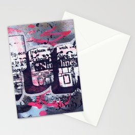 Yok 9 Lines Throwie Stationery Cards