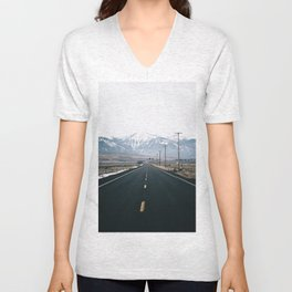 Mountain Road Unisex V-Neck
