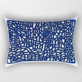 Landforms Series - StoneRoses #13 Rectangular Pillow