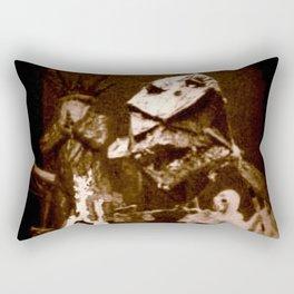 Jason Wing and the Bear Rectangular Pillow