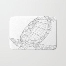The Green Sea Turtle Bath Mat