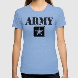 Army Shirt, Black Letters T-shirt