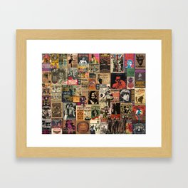 And the beat goes on Framed Art Print