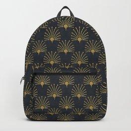 Elegant Art Deco Gatsby Style Pattern Backpack