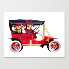 Vintag car Canvas Print