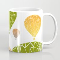 balloons Mugs featuring BALLOONS by ARCHIGRAF