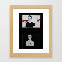 CAUSE/effect Framed Art Print