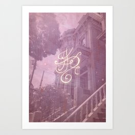 Sigil for a Happy Magical Household Art Print