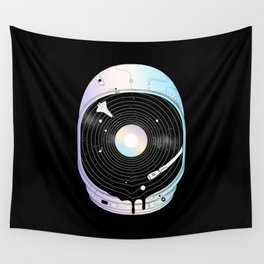 In the Presence of a Deafening Silence Wall Tapestry