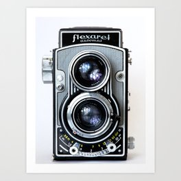 Flexaret Vinatge Camera Art Print