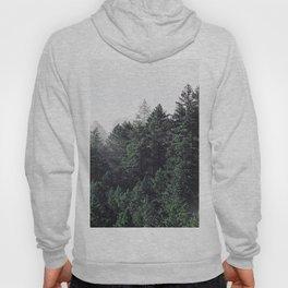 Green Misty Forest Hoody