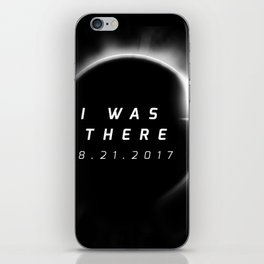 Total Solar Eclipse August 21 2017 iPhone Skin