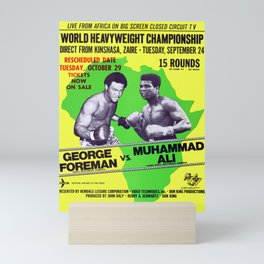Legendary Heavyweights Contest and Showdown! Mini Art Print