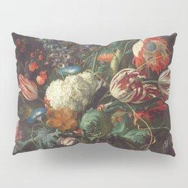 Jan Davidsz De Heem - Vase Of Flowers Pillow Sham