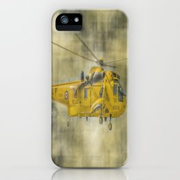 RAF Rescue iPhone Case