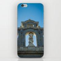 real madrid iPhone & iPod Skins featuring Almudena Cathedral, Madrid by Svetlana Korneliuk