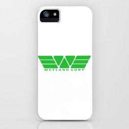 Weyland Corp - Green iPhone Case