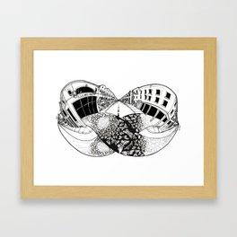 Moebius Carpet Framed Art Print
