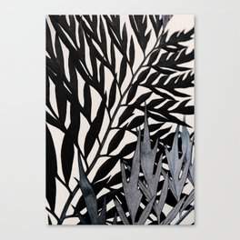 #leaf #wall #plants Canvas Print
