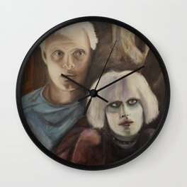 Roy and Pris Wall Clock