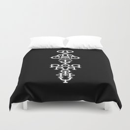 Advanced Typography Duvet Cover