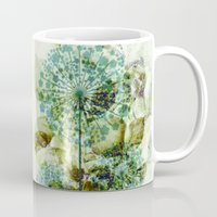 dandelion Mugs featuring dandelion by clemm