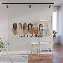 Every Woman by Lilah hIggins Wall Mural