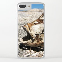 Just a pinch of salt Clear iPhone Case