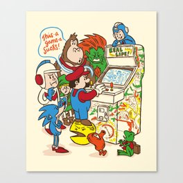 This Game Sucks Canvas Print