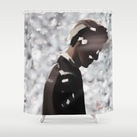 lonely Shower Curtains featuring Lonely by TheRmickey