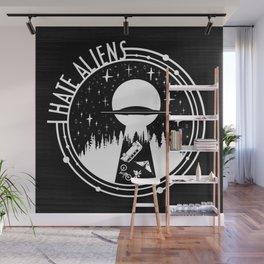 I Love Aliens Wall Mural