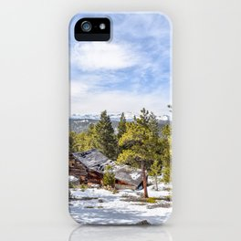 Abandoned Cabin iPhone Case