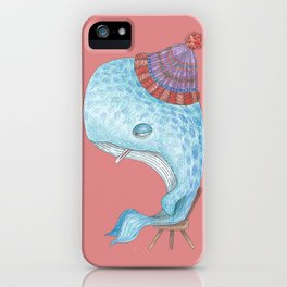 Madeleine, la Baleine iPhone Case