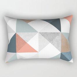 Modern Geometric 10 Rectangular Pillow