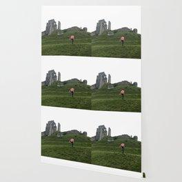 Corfe Castle Wanderlust medieval Wallpaper
