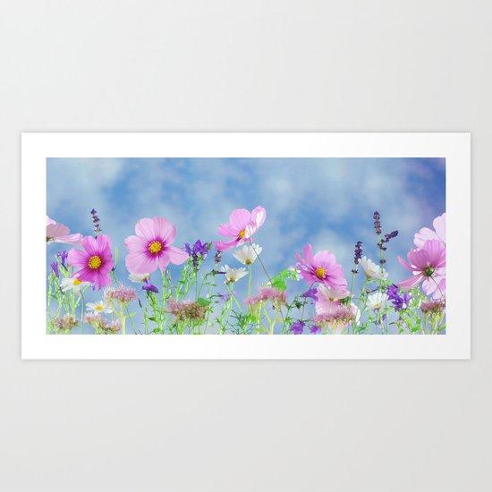 Field of Joy Art Print