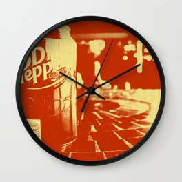 Pop Dr. Pepper Wall Clock