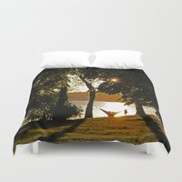 romance Duvet Covers featuring Romance by NaturallyJess