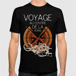 Books Collection: Jules Verne T-shirt