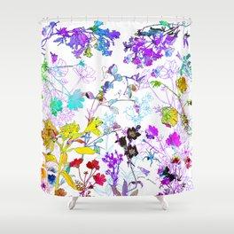 FLOWERIES Shower Curtain
