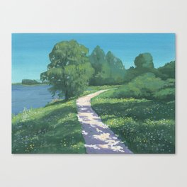 Dappled Path Canvas Print
