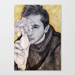 Tyler Joseph - Floral Canvas Print