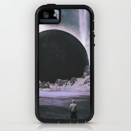Stare Into An Abyss iPhone Case