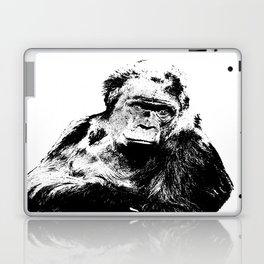 Gorilla In A Pensive Mood Portrait #decor #society6 Laptop & iPad Skin