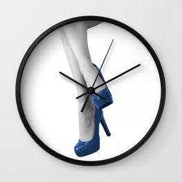 Up on my high heels Wall Clock