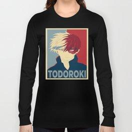 Todoroki Shouto My Hero Academia Long Sleeve T-shirt